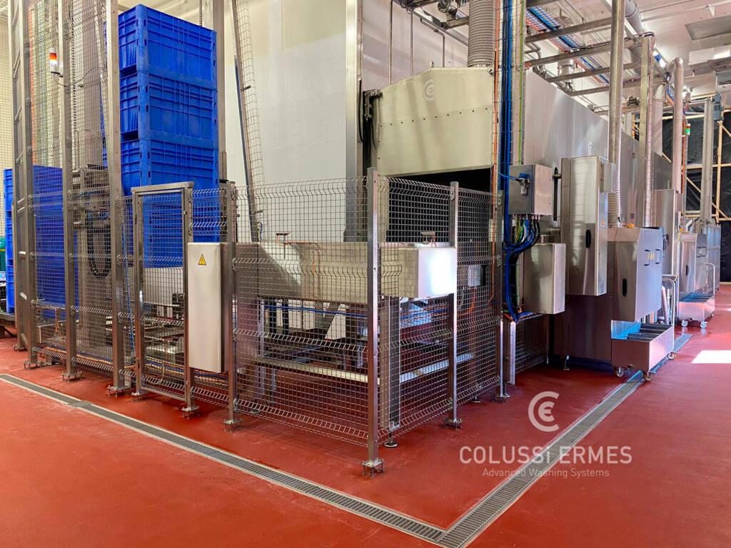 Lavadora de cajones - 24 - Colussi Ermes