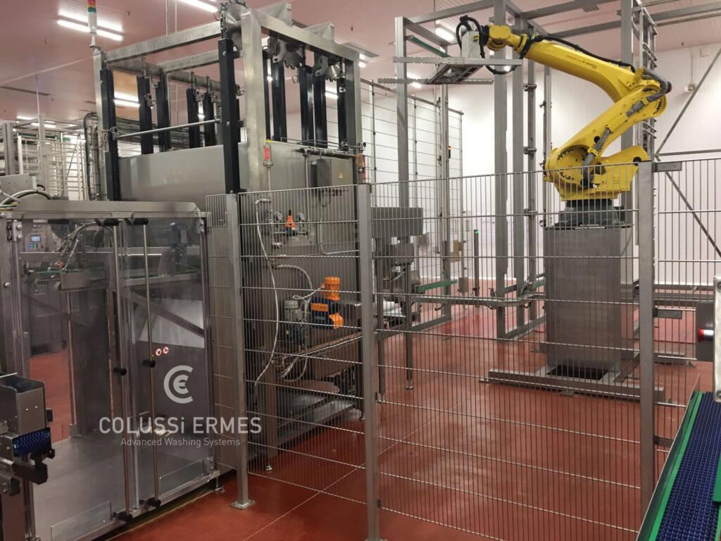 Lavadora y sopladora de embutidos - 20 - Colussi Ermes