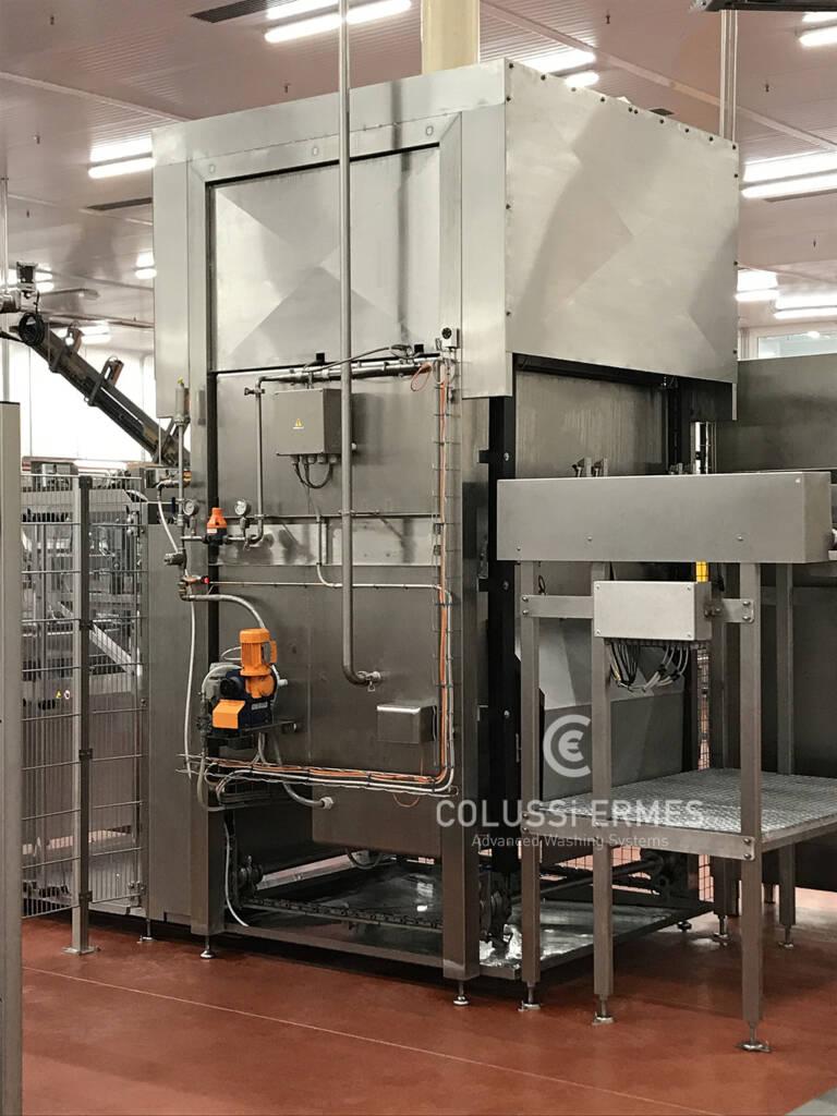 Lavadora y sopladora de embutidos - 21 - Colussi Ermes