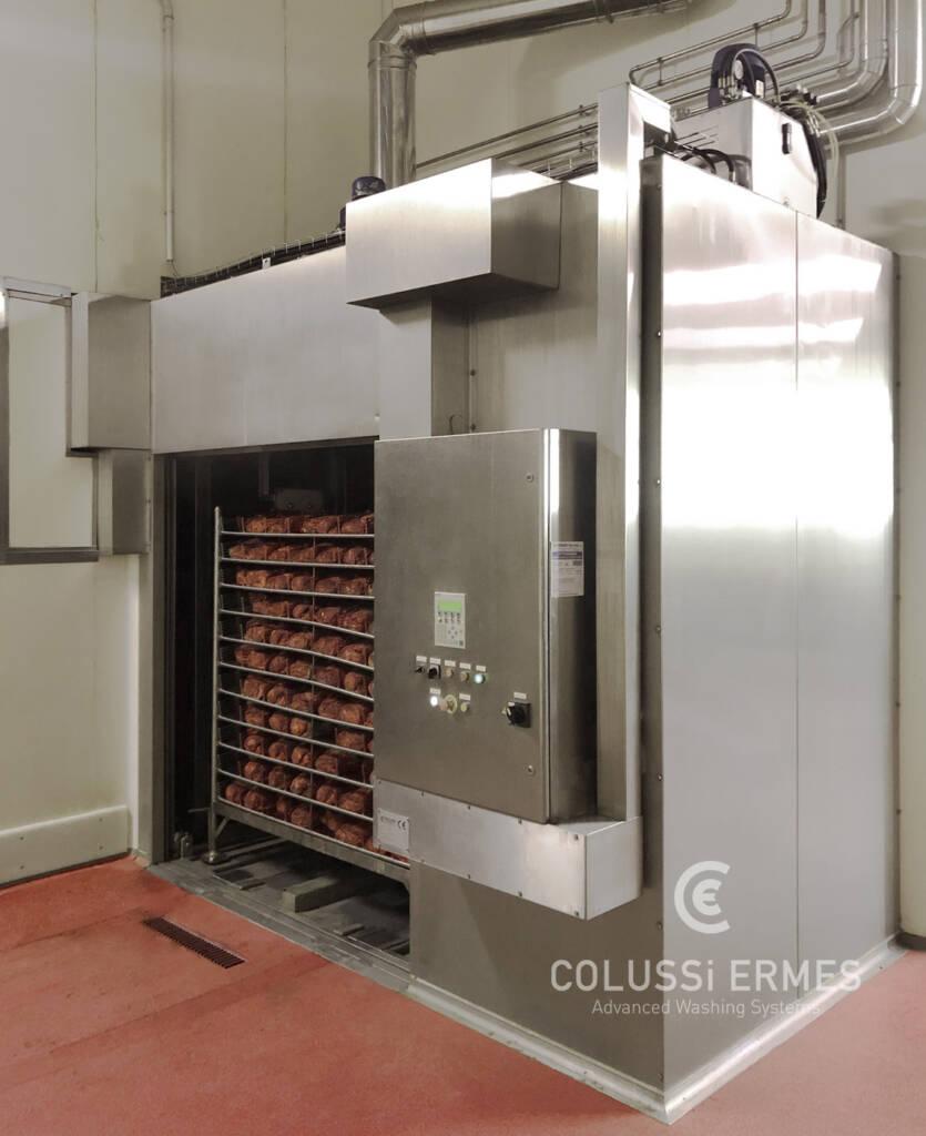 Lavadora y sopladora de embutidos - 23 - Colussi Ermes
