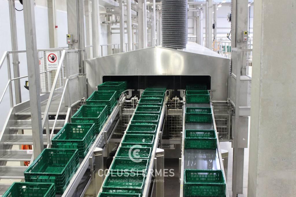 Lavadora de cajas - 6 - Colussi Ermes