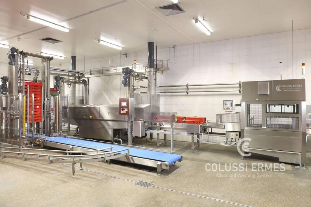 Lavadora de cajas - 10 - Colussi Ermes