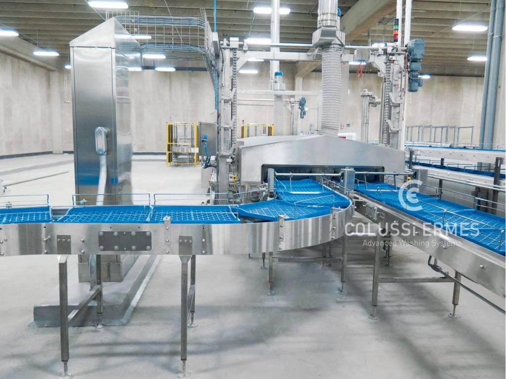 Lavadora de cajas - 15 - Colussi Ermes