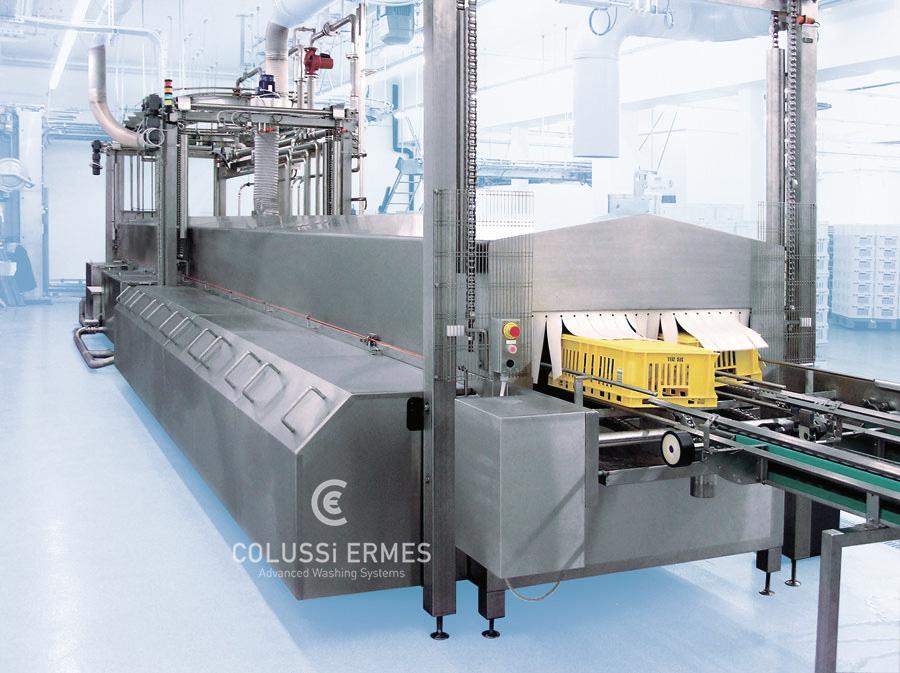 Lavadora de cajas - 21 - Colussi Ermes
