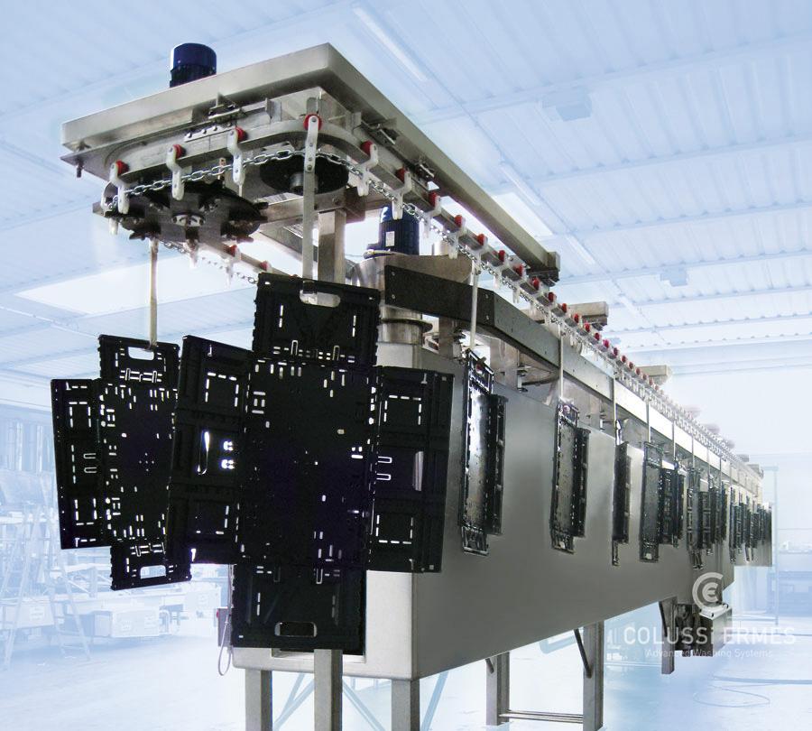 Lavadora de cajas - 35 - Colussi Ermes