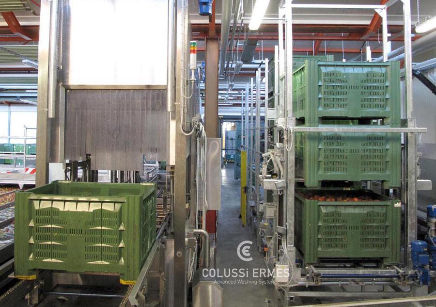 Lavadora de cajones - 10 - Colussi Ermes
