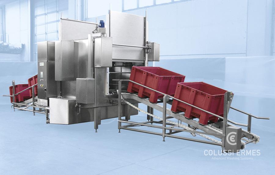 Lavadora de cajones - 13 - Colussi Ermes