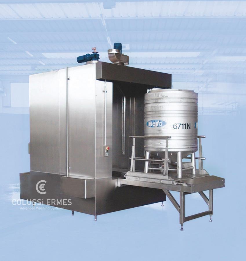 Lavadora de depósitos - 5 - Colussi Ermes