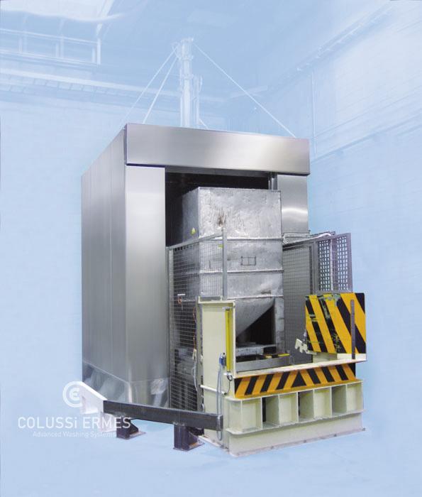 Lavadora de depósitos - 6 - Colussi Ermes