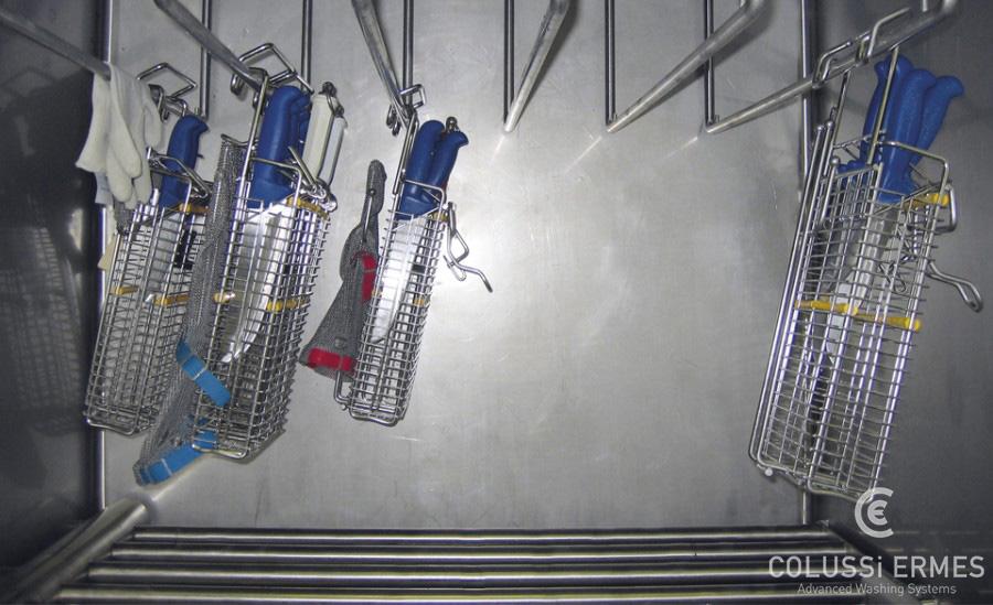 Lavadora de cuchillos Colussi Ermes