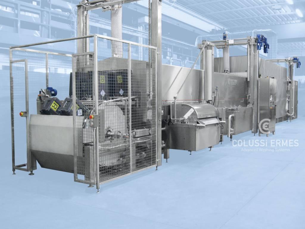 Lavadora de contenedores hospitalarios - 3 - Colussi Ermes