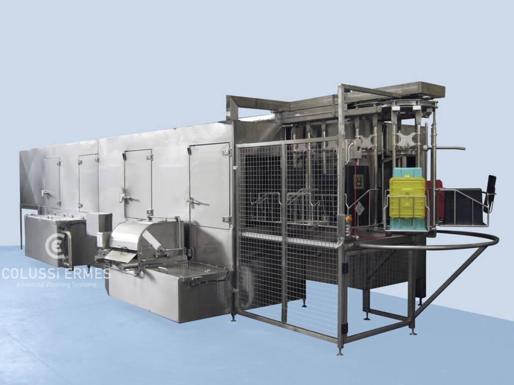 Lavadora de contenedores hospitalarios - 4 - Colussi Ermes