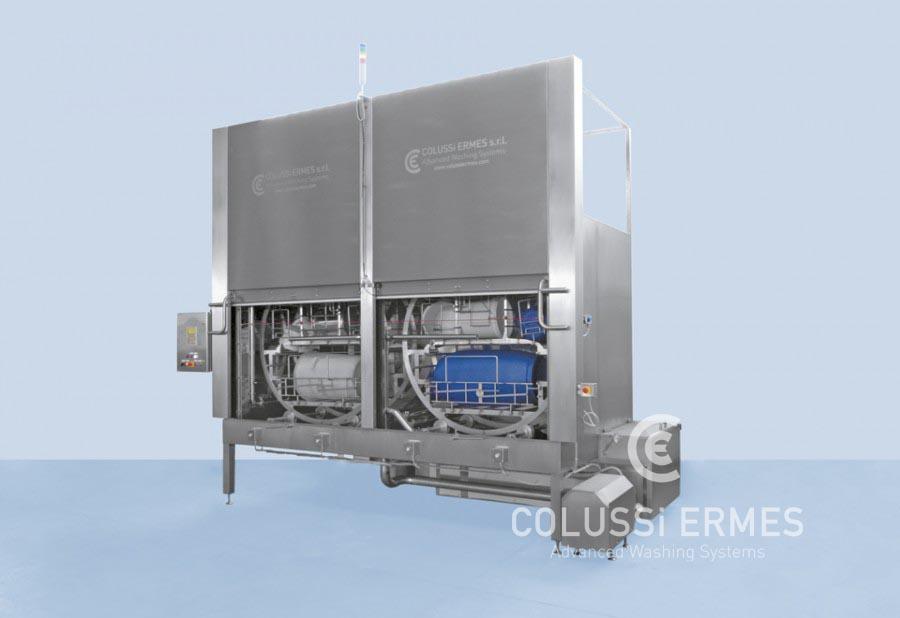 Lavadora de contenedores hospitalarios - 5 - Colussi Ermes