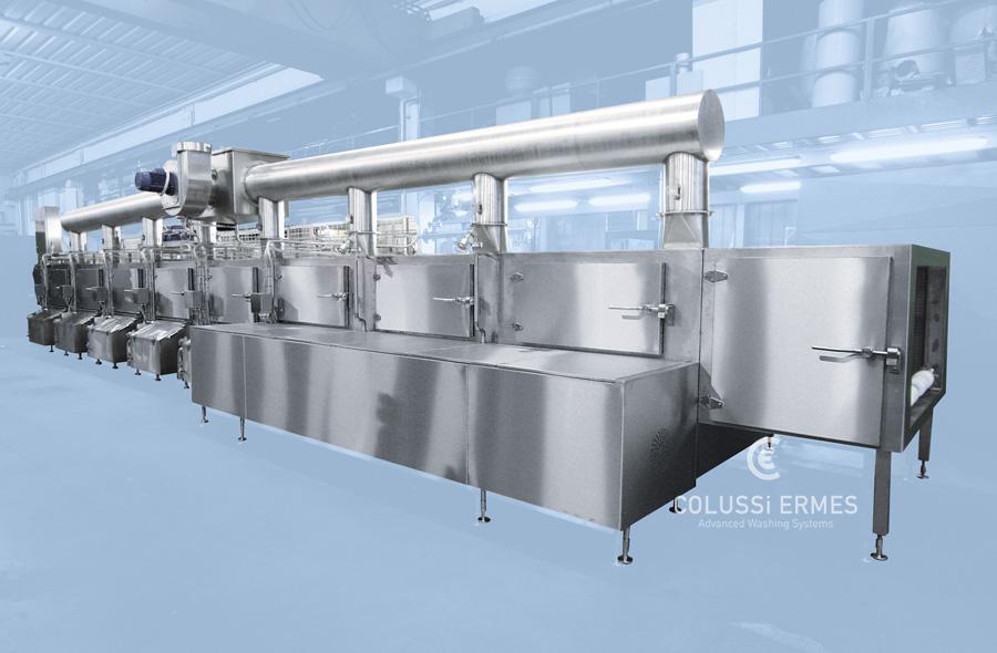 Lavadora de cintas y mallas - 2 - Colussi Ermes