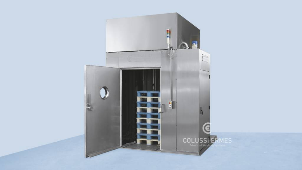Lavadora de palets - 12 - Colussi Ermes