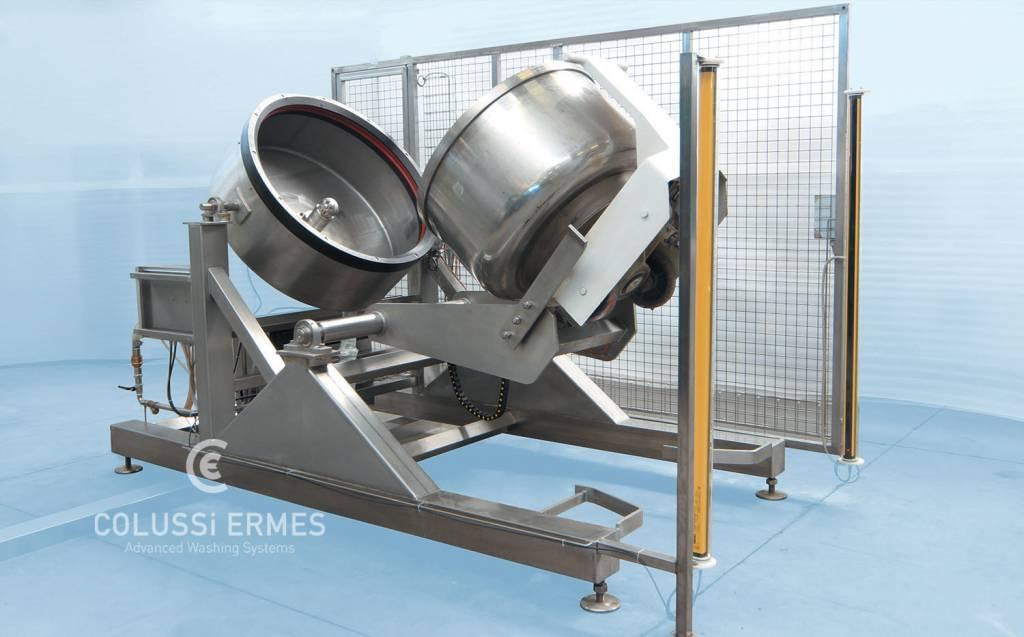 Lavadora de batidoras planetarias - 2 - Colussi Ermes