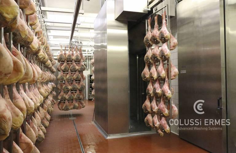 Lavadora de jamones