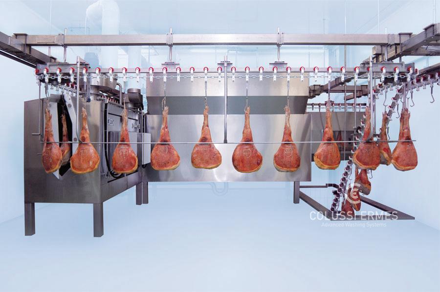 Lavadora de jamones Colussi Ermes