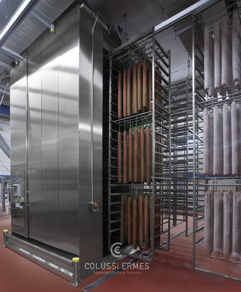 Lavadora y sopladora de embutidos - 1 - Colussi Ermes