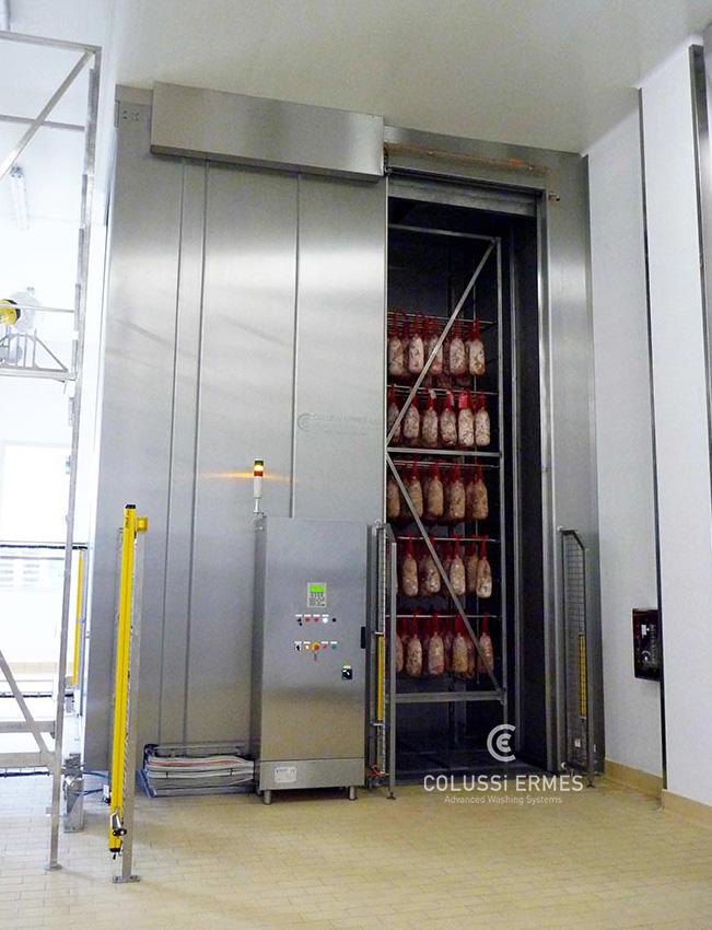 Lavadora y sopladora de embutidos - 2 - Colussi Ermes