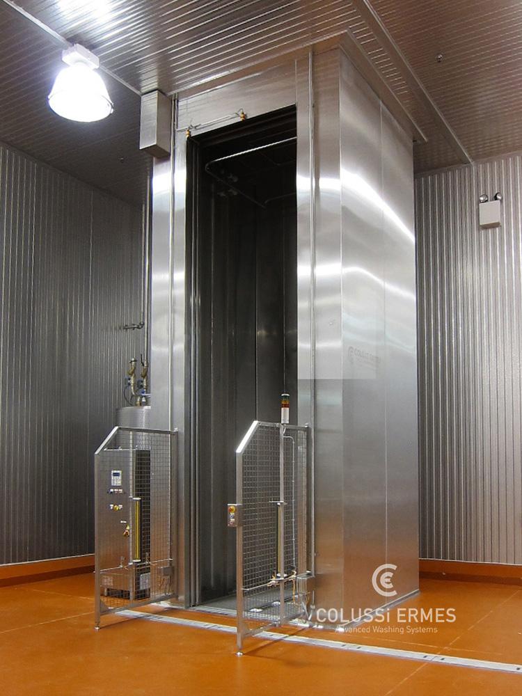Lavadora y sopladora de embutidos - 4 - Colussi Ermes