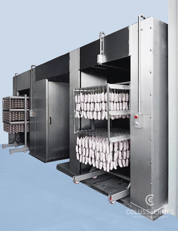 Lavadora y sopladora de embutidos - 12 - Colussi Ermes
