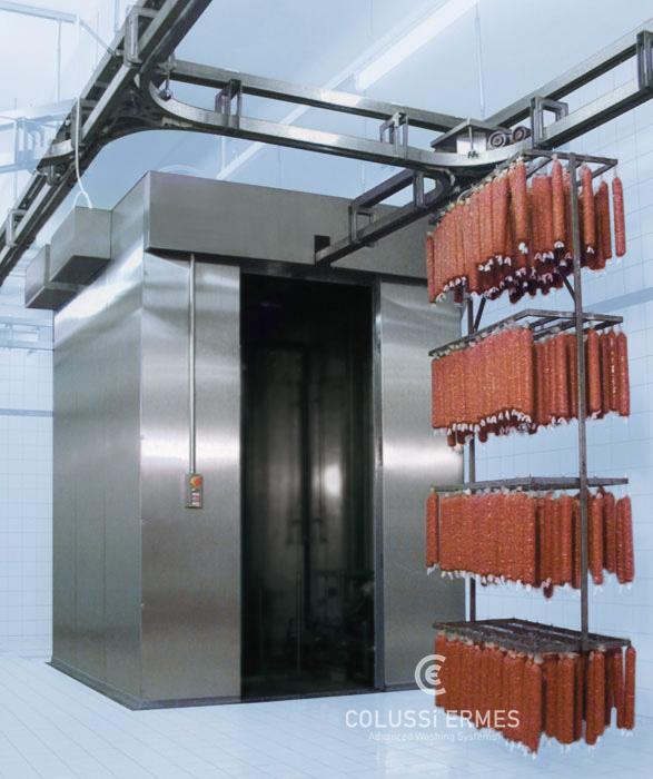 Lavadora y sopladora de embutidos - 16 - Colussi Ermes