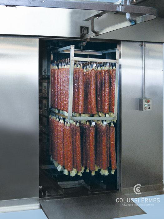 Lavadora y sopladora de embutidos - 18 - Colussi Ermes