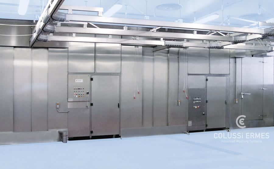 Lavadora y sopladora de embutidos - 19 - Colussi Ermes
