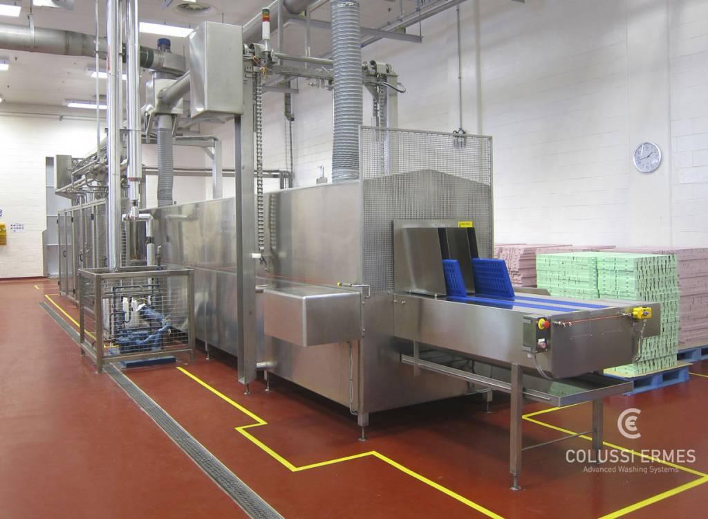 Lavadora de moldes de chocolate - 3 - Colussi Ermes