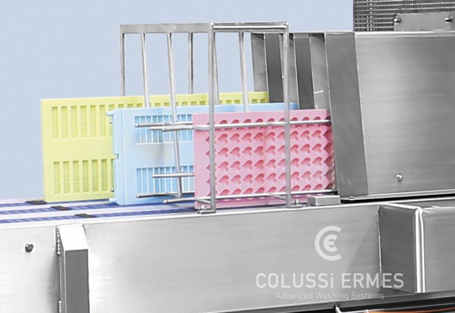 Lavadora de moldes de chocolate - 6 - Colussi Ermes