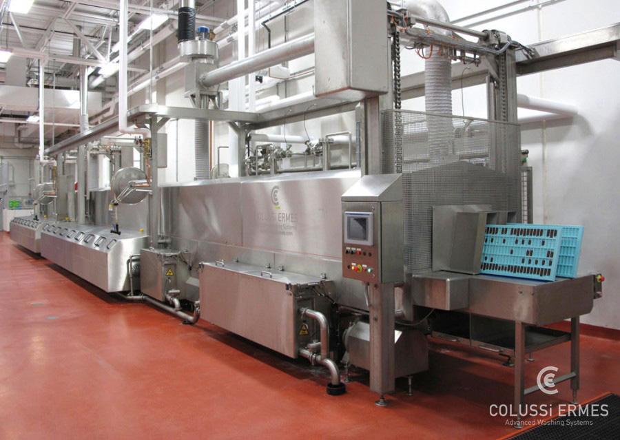 Lavadora de moldes de chocolate - 12 - Colussi Ermes