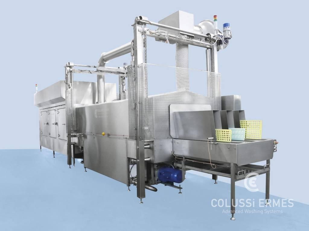 Lavadora de moldes de chocolate - 14 - Colussi Ermes