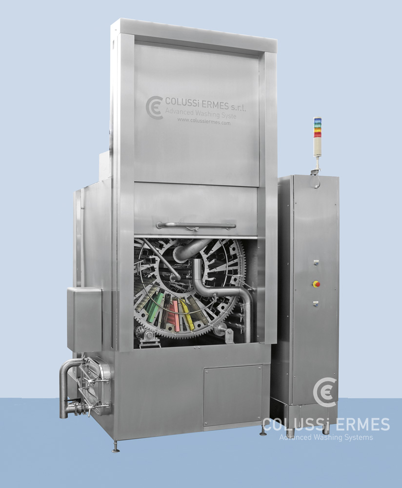 Lavadora de moldes de chocolate - 18 - Colussi Ermes