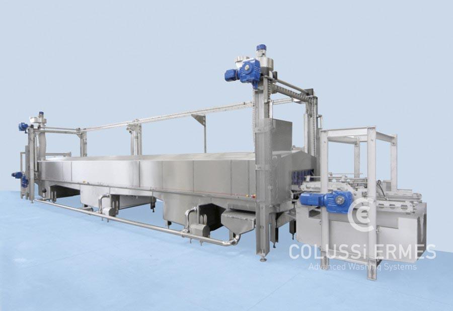 Lavadora de moldes para quesos - 4 - Colussi Ermes