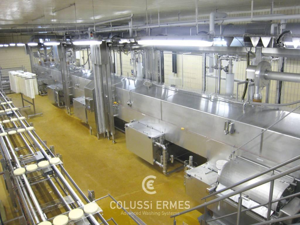 Lavadora de moldes para quesos - 8 - Colussi Ermes