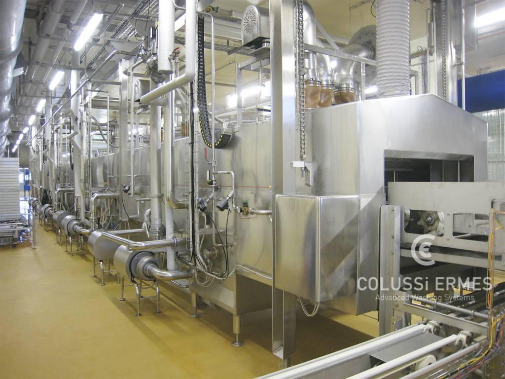Lavadora de moldes para quesos - 10 - Colussi Ermes