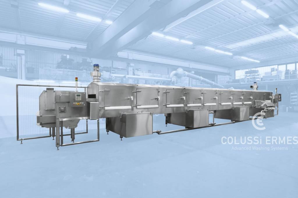Lavadora de moldes para quesos - 11 - Colussi Ermes