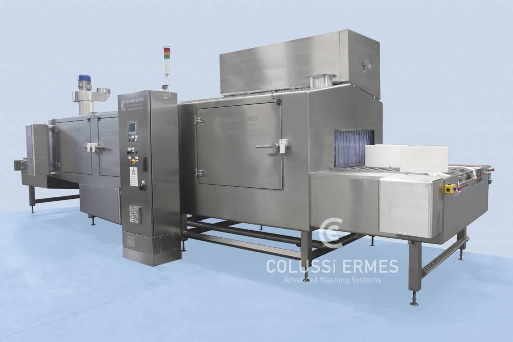 Lavadora de moldes para quesos - 12 - Colussi Ermes