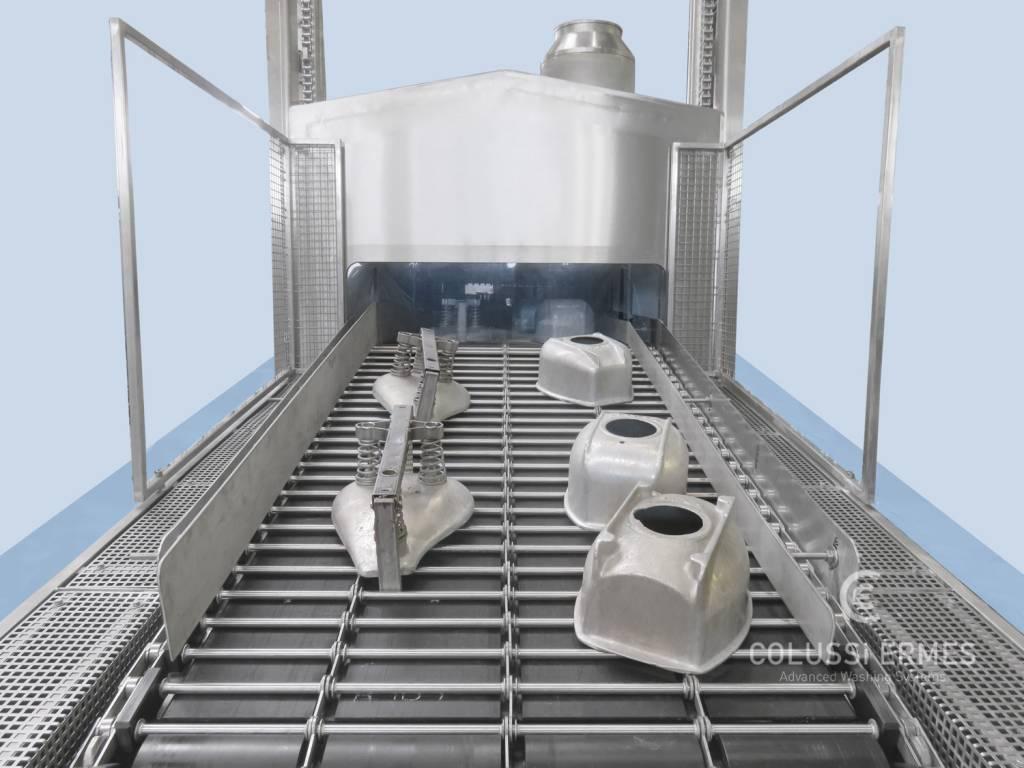 Lavadora de moldes de jamón - 4 - Colussi Ermes
