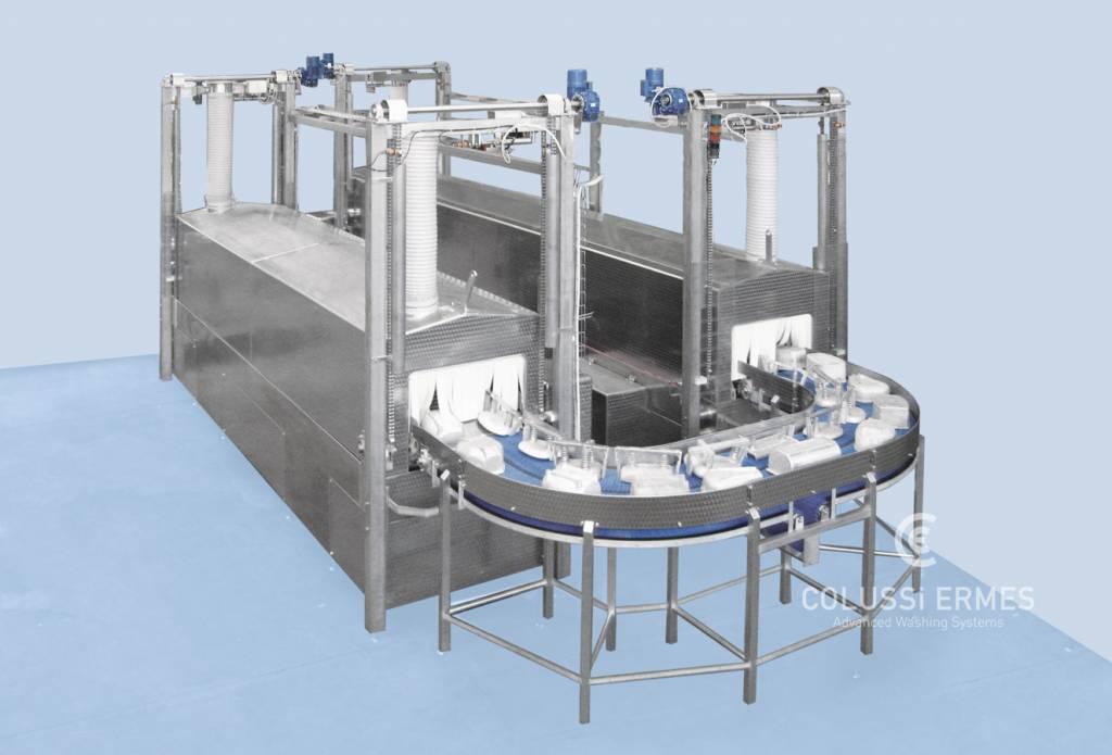 Lavadora de moldes de jamón - 5 - Colussi Ermes