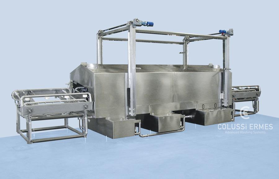Lavadora de moldes de jamón - 7 - Colussi Ermes