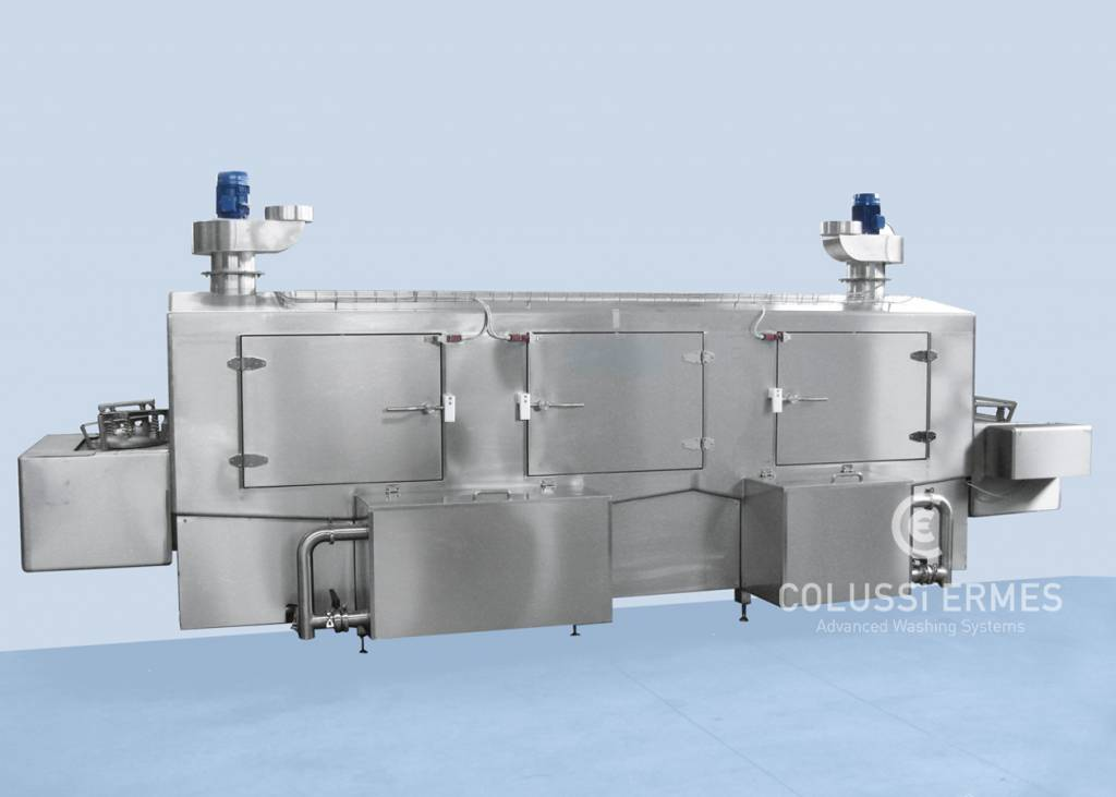 Lavadora de moldes de jamón - 8 - Colussi Ermes