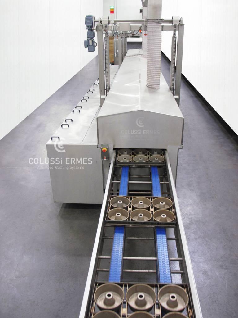 Lavadora de bandejas - 4 - Colussi Ermes