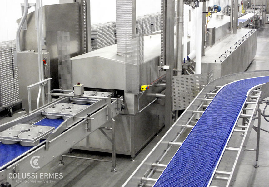 Lavadora de bandejas - 5 - Colussi Ermes