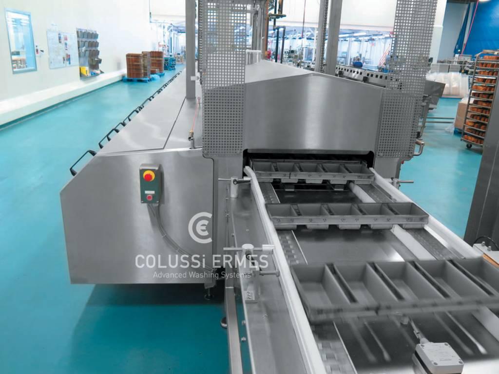 Lavadora de bandejas - 6 - Colussi Ermes