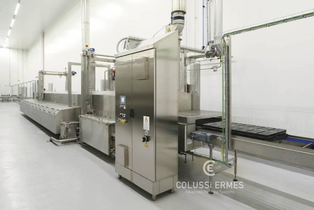 Lavadora de bandejas - 9 - Colussi Ermes