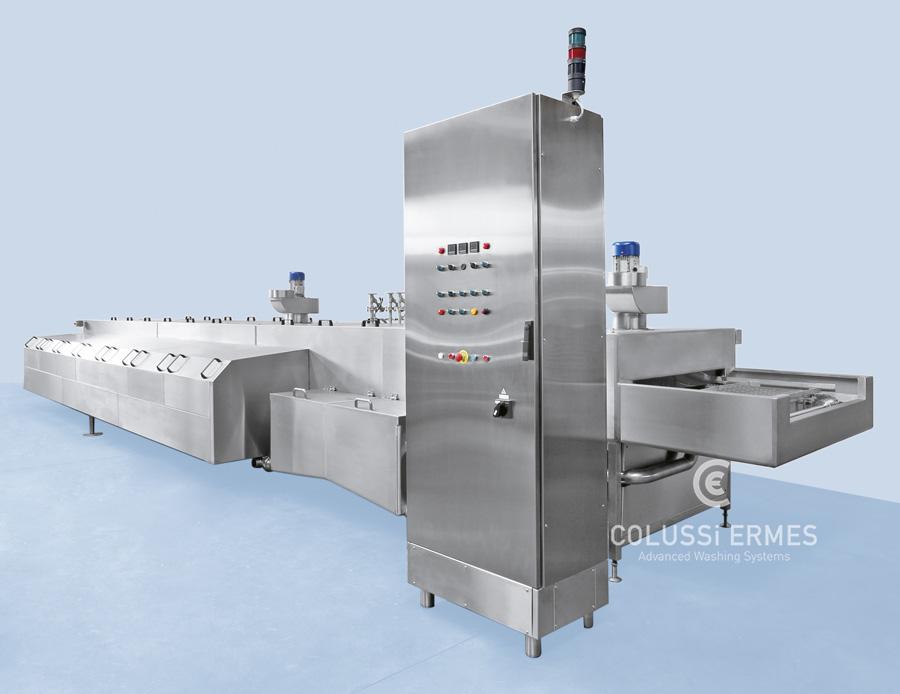 Lavadora de bandejas - 10 - Colussi Ermes