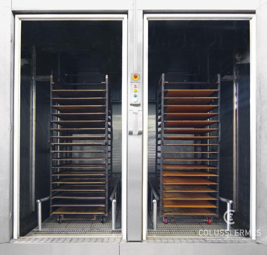 Lavadora de bandejas - 13 - Colussi Ermes