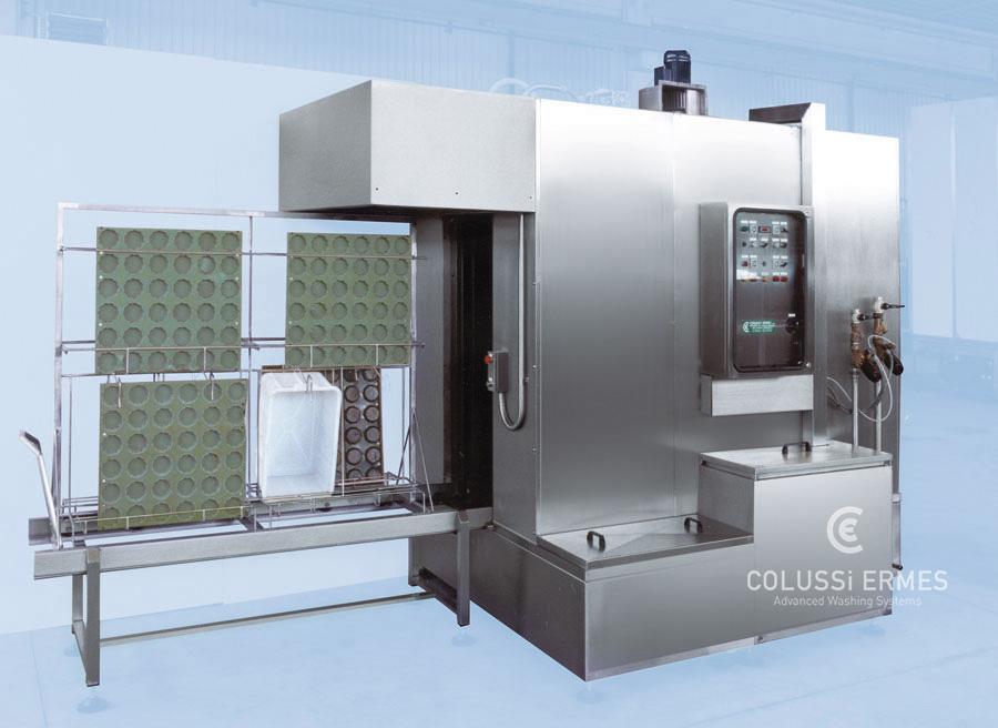 Lavadora de bandejas - 15 - Colussi Ermes